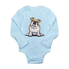 Cute English Bulldog Onesie Romper Suit