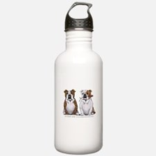 Bulldog Romance Water Bottle