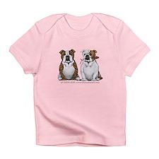 Bulldog Romance Infant T-Shirt