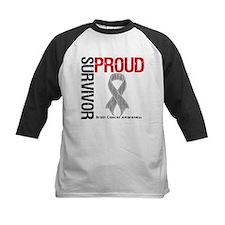 Proud Brain Cancer Survivor Tee