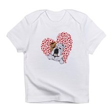 English Bulldog Love Infant T-Shirt