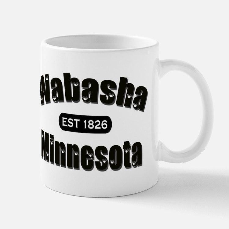 Wabasha Established 1826 Mug