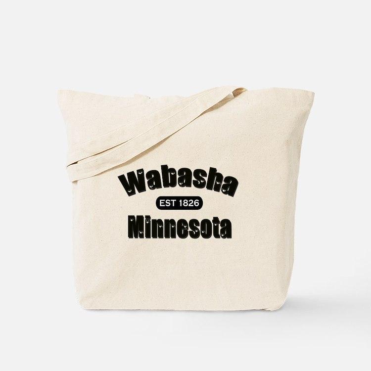 Wabasha Established 1826 Tote Bag