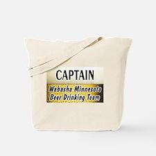 Wabasha Beer Drinking Team Tote Bag