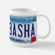 Wabasha License Plate Mug