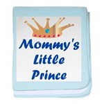 Mommy's Little Prince baby blanket