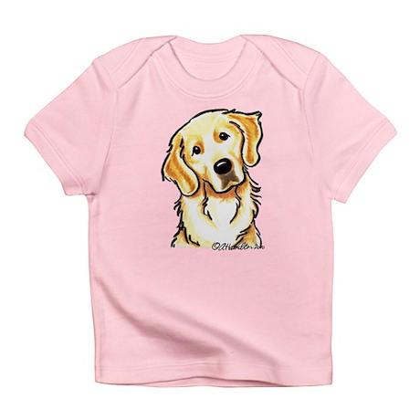 Golden Retriever Portrait Infant T-Shirt