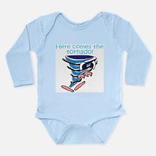 Little Tornado Long Sleeve Infant Bodysuit