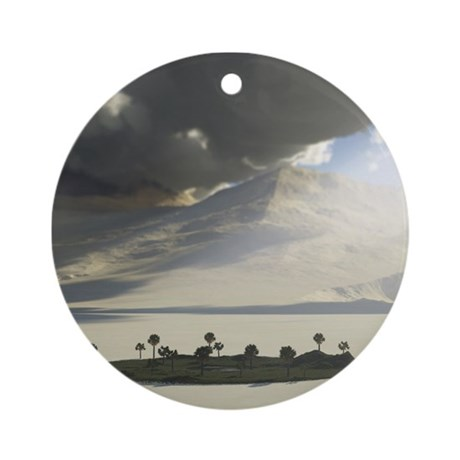 My Secret Place -Oasis Ornament (Round)
