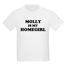 Molly Is My Homegirl Kids T-Shirt