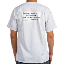 carnegie quote 1 - Ash Grey T-Shirt