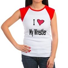 Wrestling Mom Women's Cap Sleeve T-Shirt