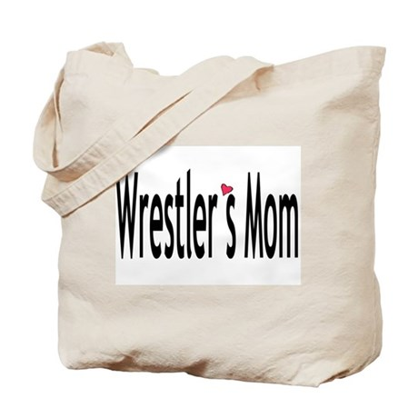 Wrestler's Mom Tote Bag