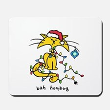 Christmas Cat Mousepad