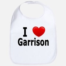 I Love Garrison Bib