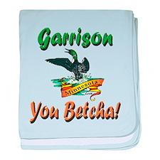Garrison You Betcha baby blanket