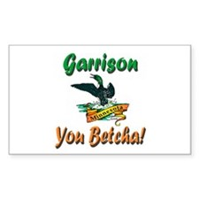 Garrison You Betcha Decal