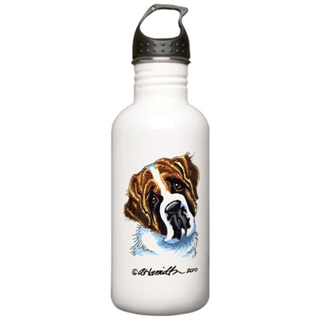 Saint Bernard Portrait Stainless Water Bottle 1.0L