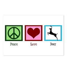Peace Love Deer Postcards (Package of 8)