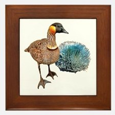 Hawaiian Islands NeNe - Framed Tile