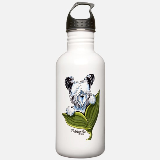 Platinum Skye Terrier Sports Water Bottle