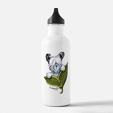 Platinum Skye Terrier Water Bottle