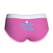 Bride to Be Women's Boy Brief