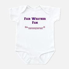 Fair weather fan Infant Bodysuit