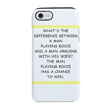 Blue/Red Shaka iPhone Case