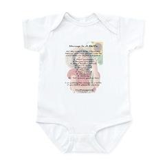 Amy's Message In A Bottle Infant Bodysuit