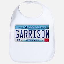 Garrison License Plate Bib