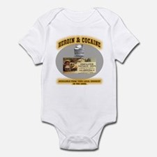 Cocaine & Heroin Infant Bodysuit