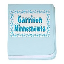 Garrison Minnesnowta baby blanket
