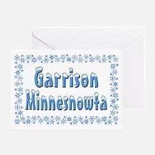 Garrison Minnesnowta Greeting Card
