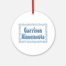 Garrison Minnesnowta Ornament (Round)