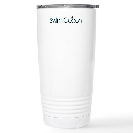 Cool New Swim Coach Stainless Steel Travel Mug