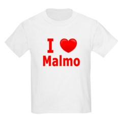 I Love Malmo Kids Light T-Shirt