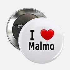 """I Love Malmo 2.25"""" Button"""