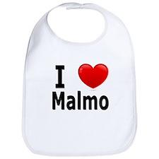 I Love Malmo Bib