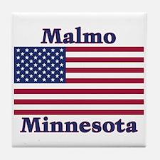 Malmo US Flag Tile Coaster