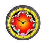 SERIES G:  CIRCLE OF FRIENDS Wall Clock