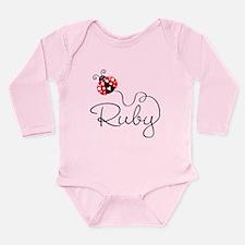 Ladybug Ruby Long Sleeve Infant Bodysuit