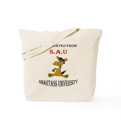 Smart Ass University Tote Bag