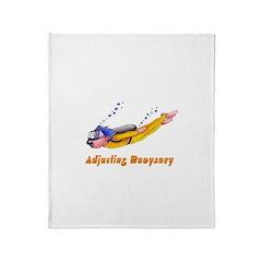 Adjusting Buoyancy Throw Blanket