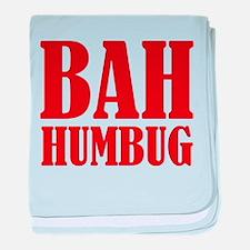 Bah Humbug baby blanket