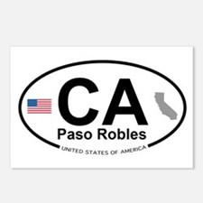 Paso Robles Postcards (Package of 8)