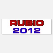 Rubio 2012 Bumper Bumper Sticker