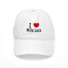 I Love Mille Lacs Baseball Cap