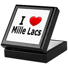 I Love Mille Lacs Keepsake Box