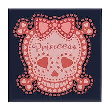 Starry Princess Tile Coaster